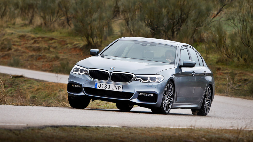 Probamos el BMW 520d, ¿la berlina más avanzada del momento?