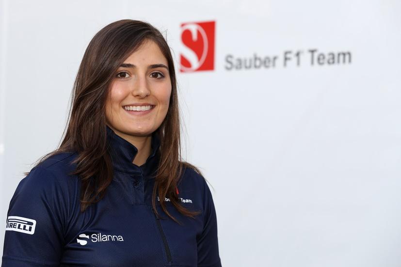 F1: Tatiana Calderón, piloto de desarrollo de la escudería Sauber