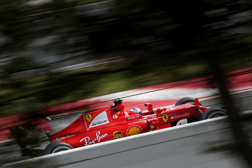 Kimi Raikkonen rebajó el tiempo de Hamilton