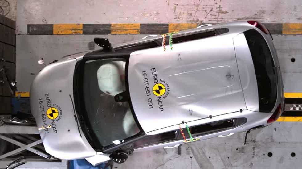 Los resultados de seis nuevos coches en los test de seguridad Euro NCAP