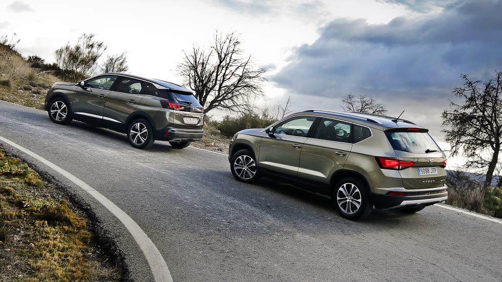 Peugeot 3008 1.6 BlueHDi vs Seat Ateca 1.6 TDI, ¿cuál es mejor SUV?