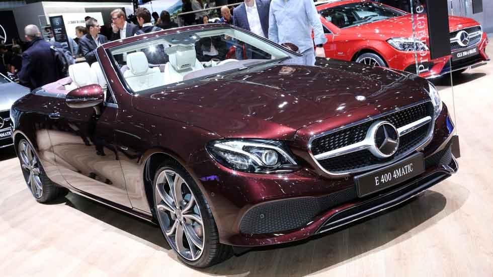 Mercedes Clase E Cabriolet en el Salón de Ginebra, todos los datos y fotos