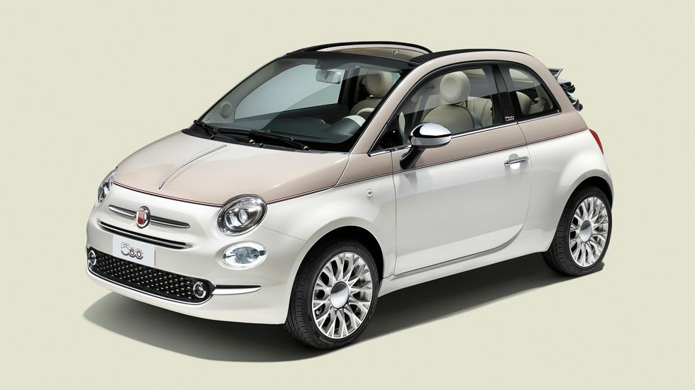 Fiat 500 60 Aniversario y Fiat Fullback Cross en el Salón de Ginebra