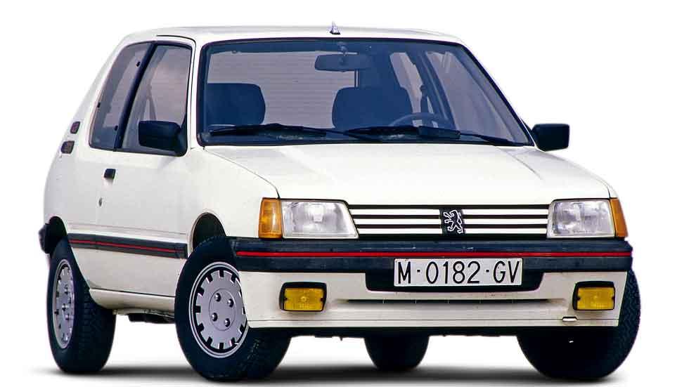 Peugeot 205: Golden Car of The Year de la década de los 80