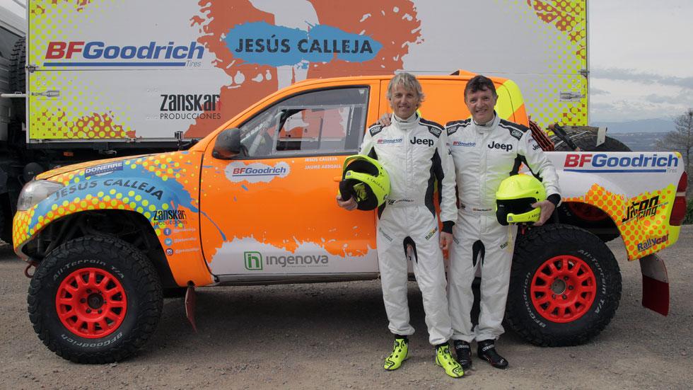El aventurero Jesús Calleja apunta al Dakar 2018