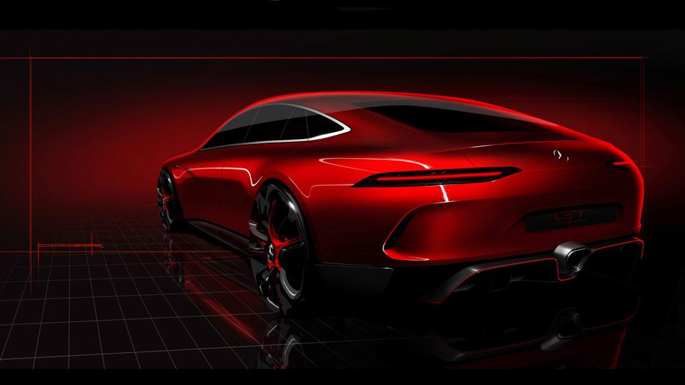Mercedes-AMG prepara un supercoche rival del Porsche Panamera
