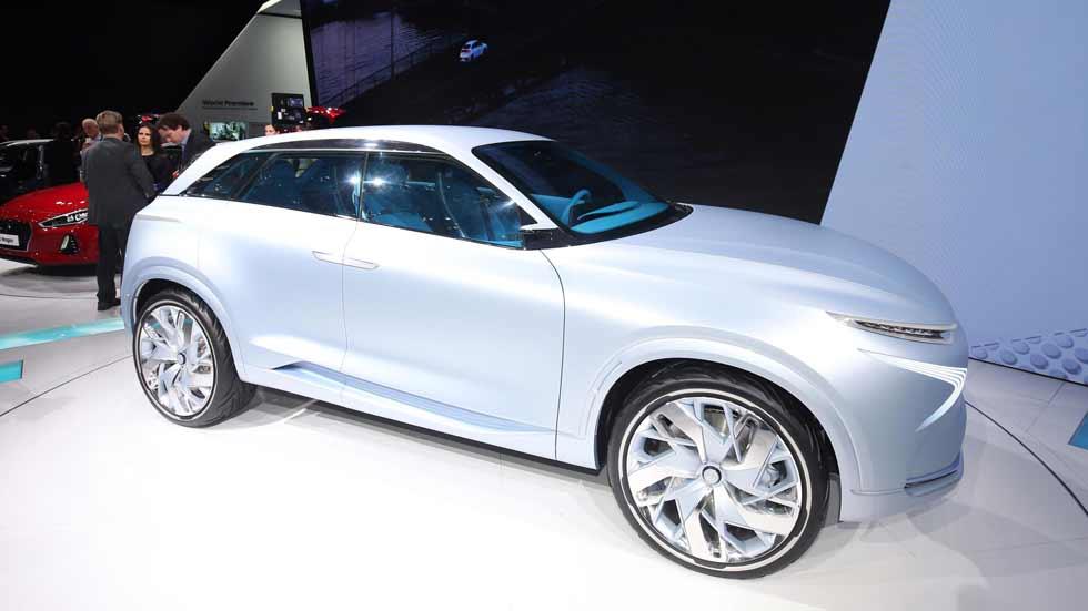 Hyundai FE Fuel Cell Concept: hidrógeno y electricidad para un futuro SUV