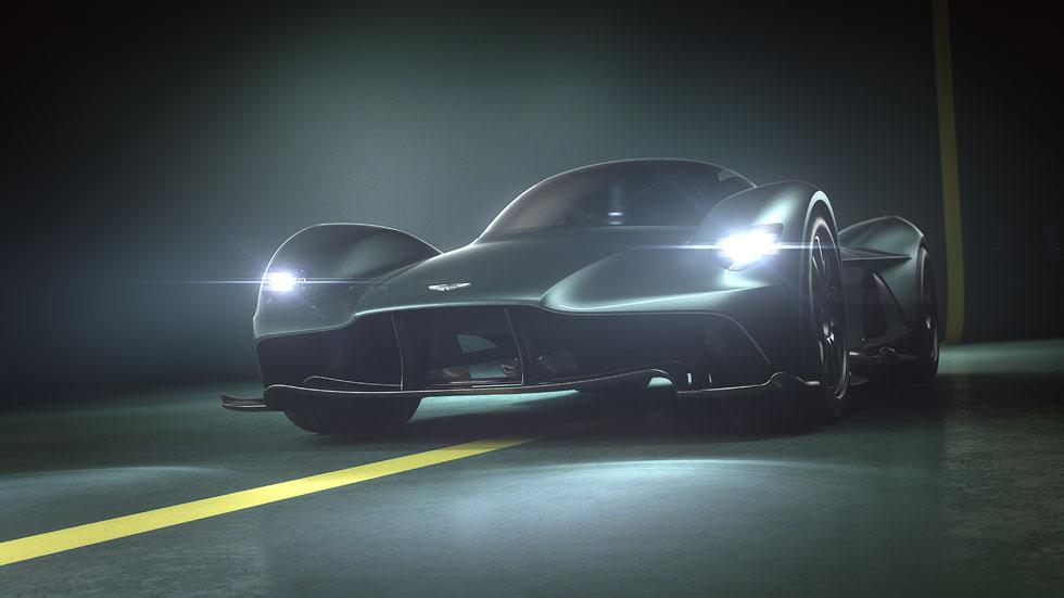 """Aston Martin Valkyrie: un bestial """"Fórmula 1 de calle"""""""