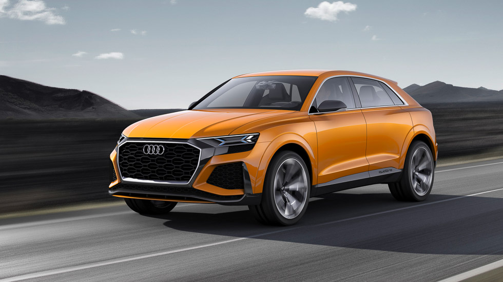 Audi Q8 Sport Concept: ¿el futuro SUV deportivo SQ8?