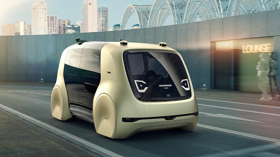 VW Sedric: el coche completamente autónomo, sin volante ni pedales