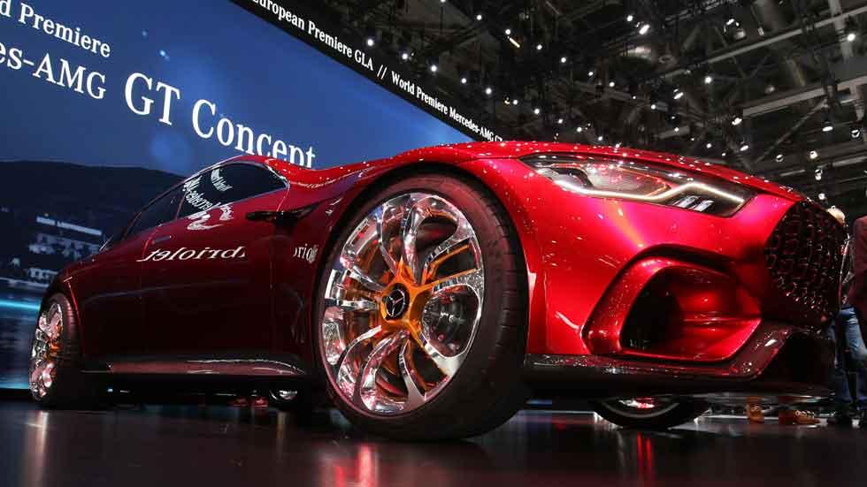 Mercedes-AMG GT Concept: ¡816 CV y a por el Porsche Panamera!