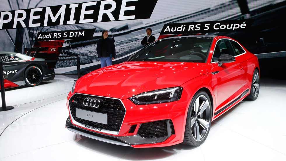 Audi RS 5 Coupé 2017: con nuevo motor 2.9 TFSI de 450 CV