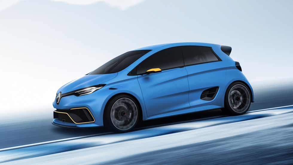 Renault Zoe e-Sport Concept: chispa deportiva eléctrica desde Ginebra