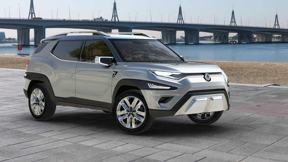 Ssangyong XAVL, así es el nuevo SUV de siete plazas