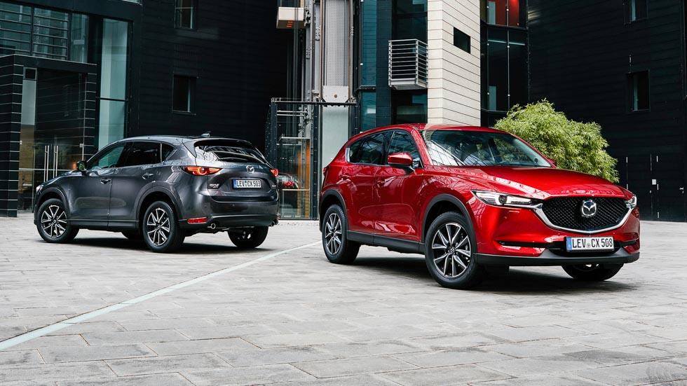 Mazda CX-5 2017, así es la gama europea de este SUV