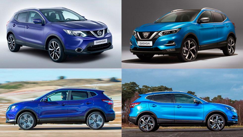 Nissan Qashqai 2017 vs 2014: así cambia el SUV más vendido