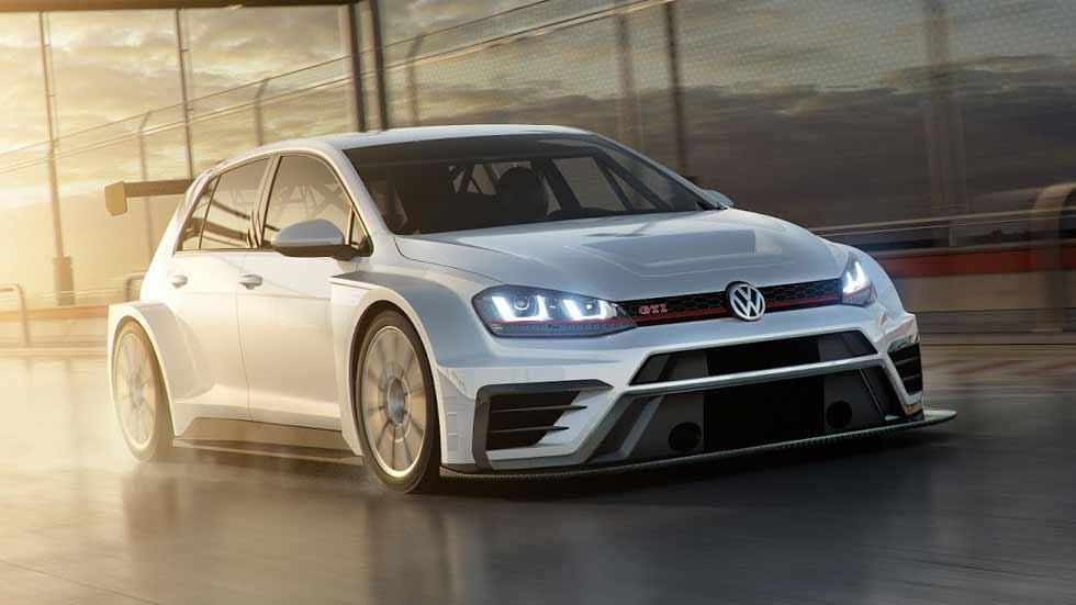 VW Golf GTI TCR 2017: así es el nuevo Golf de carreras