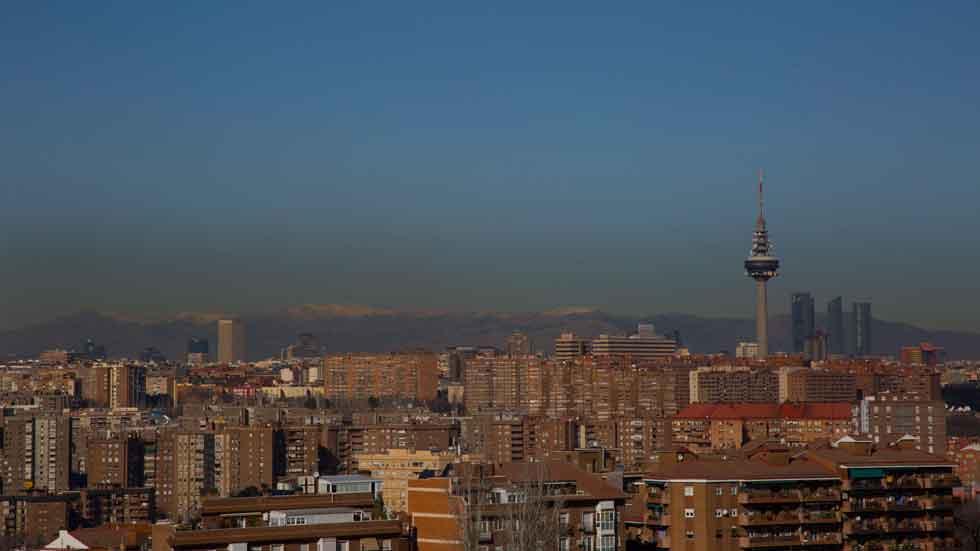 Este sábado no se podrá aparcar en el centro de Madrid por alta contaminación