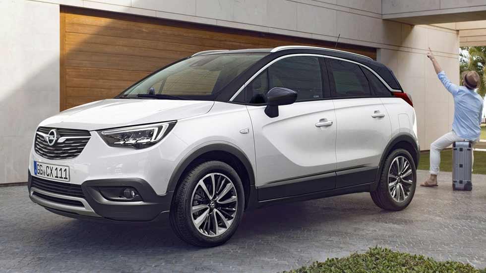 El nuevo SUV Opel Crossland X, más barato que el Peugeot 2008