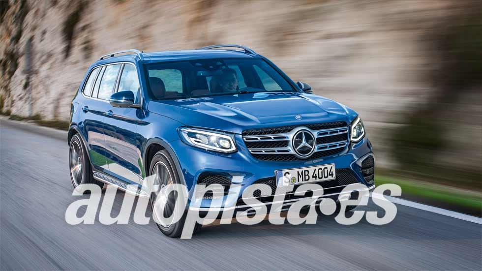 Mercedes GLB 2018: nuevo SUV entre el GLA y el GLC
