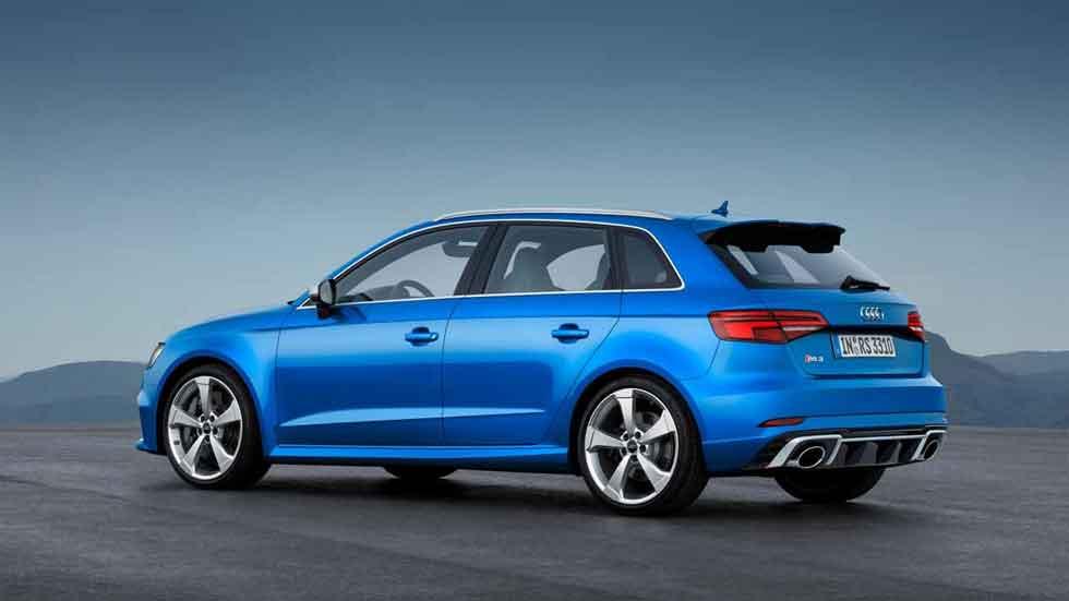 El nuevo Audi RS 3 Sportback, en vídeo