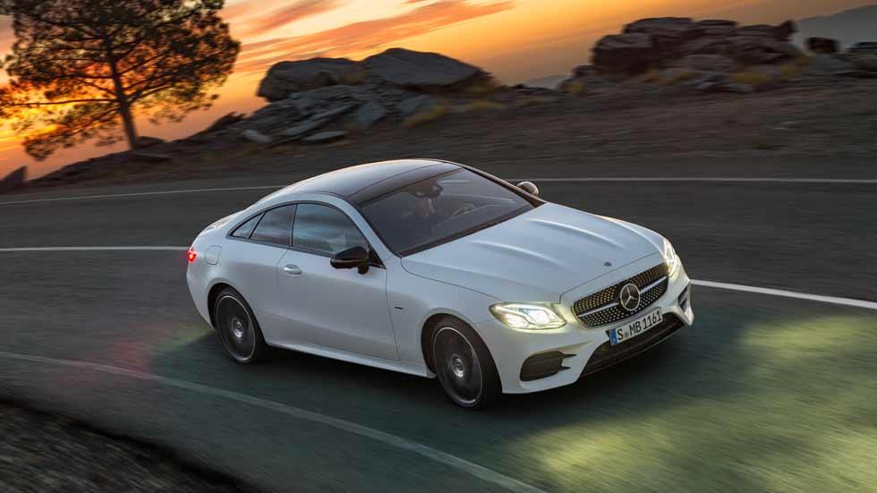 Mercedes Clase E Coupé 2017: el Clase E más dinámico y elegante