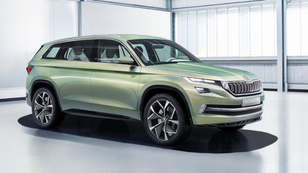 Skoda muestra en un mes su primer coche eléctrico: ¿un Kodiaq EV?