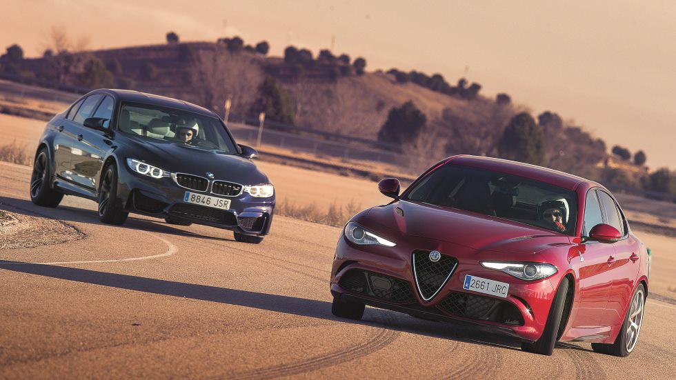 Alfa Giulia Quadrifoglio vs BMW M3: las mejores berlinas deportivas
