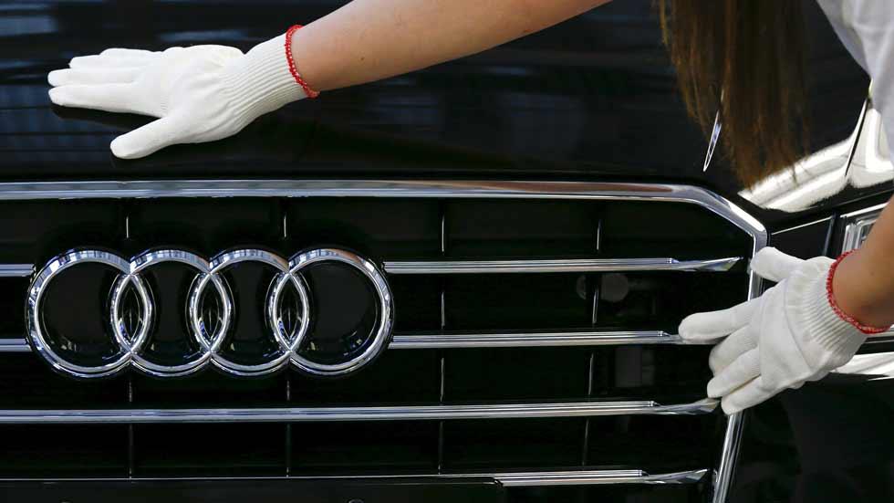 La sede de Audi, registrada por el fraude de las emisiones
