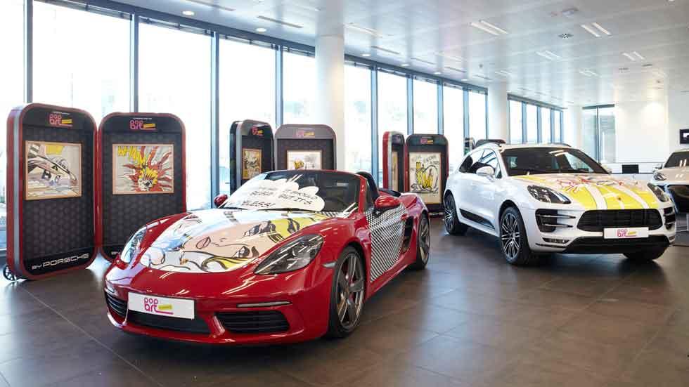 Porsche Pop Art con Roy Lichtenstein: puro arte sobre ruedas
