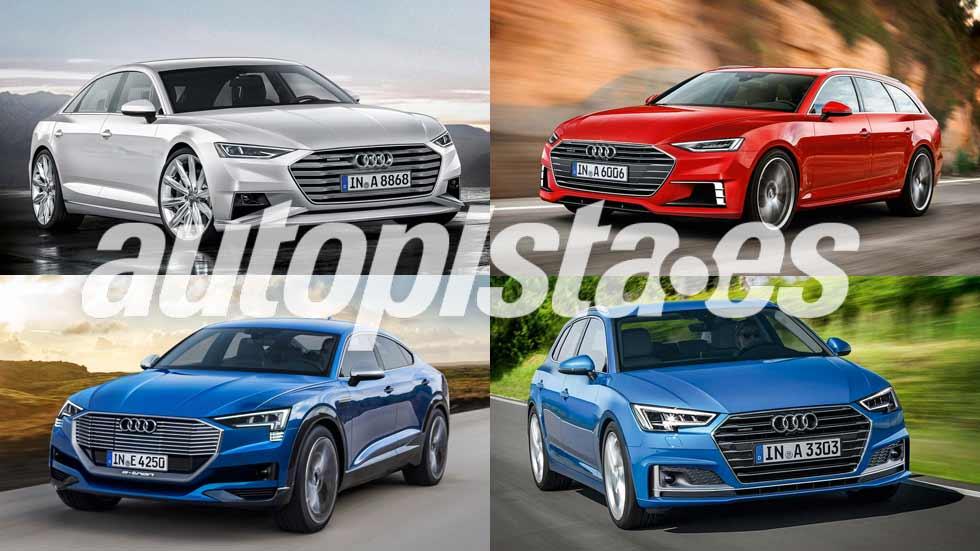 Todos los coches nuevos de Audi hasta 2023: A8, Q4, e-tron...