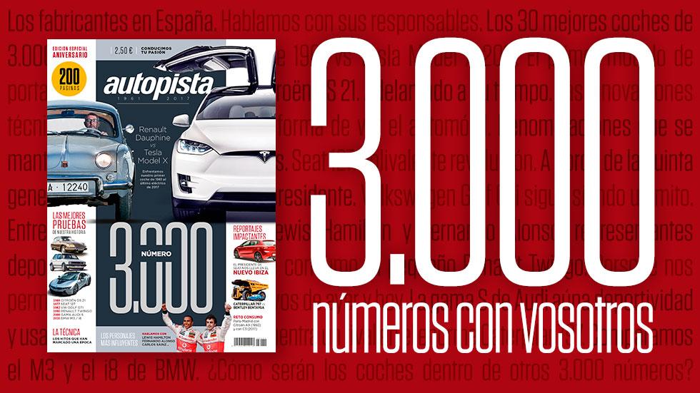 Especial Autopista 3.000: ¡ya a la venta con 200 páginas!