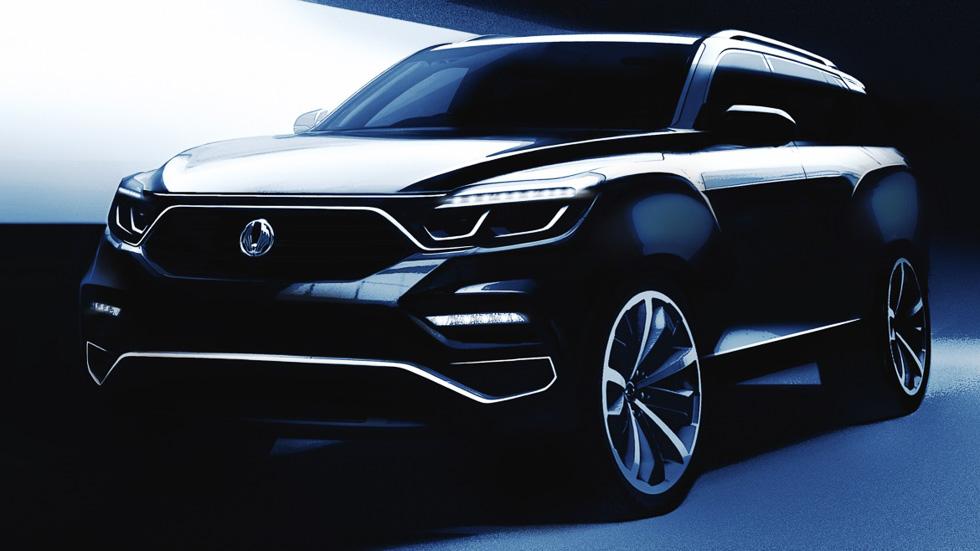 SsangYong Y400, el SUV sucesor del Rexton se estrenará en abril