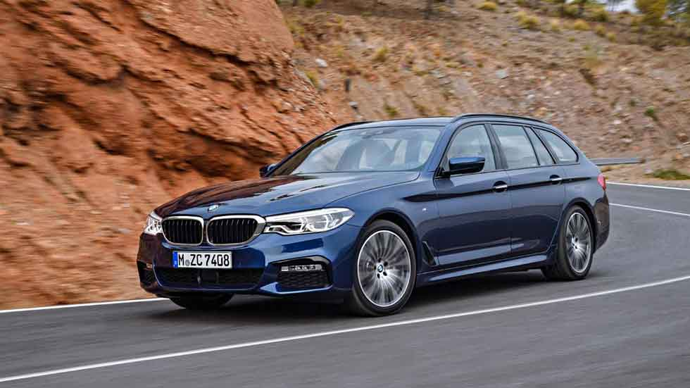 El BMW Serie 5 Touring 2017, en vídeo
