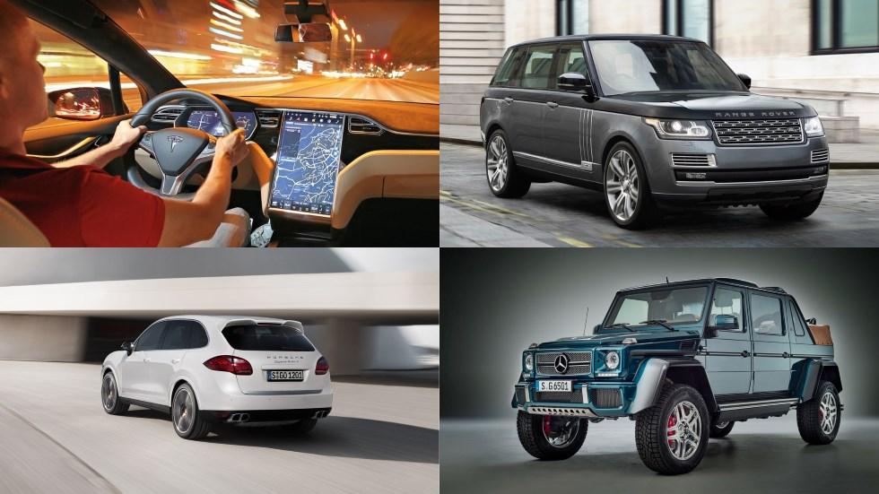 Los SUV más exclusivos del mercado: ¡a todo lujo!