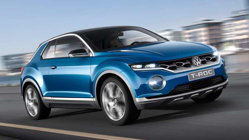 Confirmado: el VW T-Roc, el Golf SUV, en septiembre