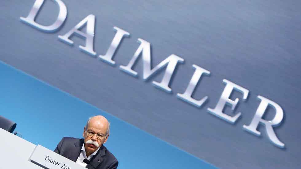 La Fiscalía alemana investiga a Daimler por fraude en las emisiones