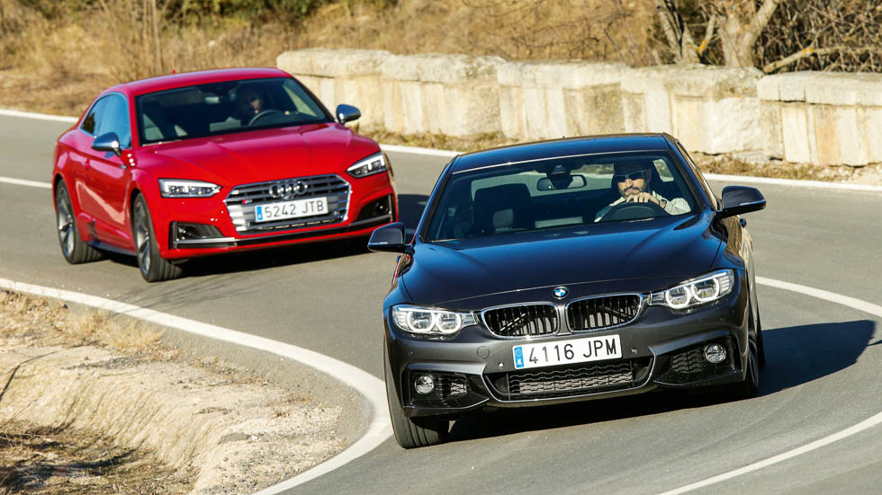 Audi S5 vs BMW 440i: supercomparativa con todas las mediciones
