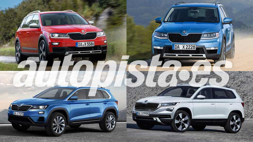 Los nuevos SUV de Skoda: Yeti, Fabia SUV, Kodiaq Coupé...
