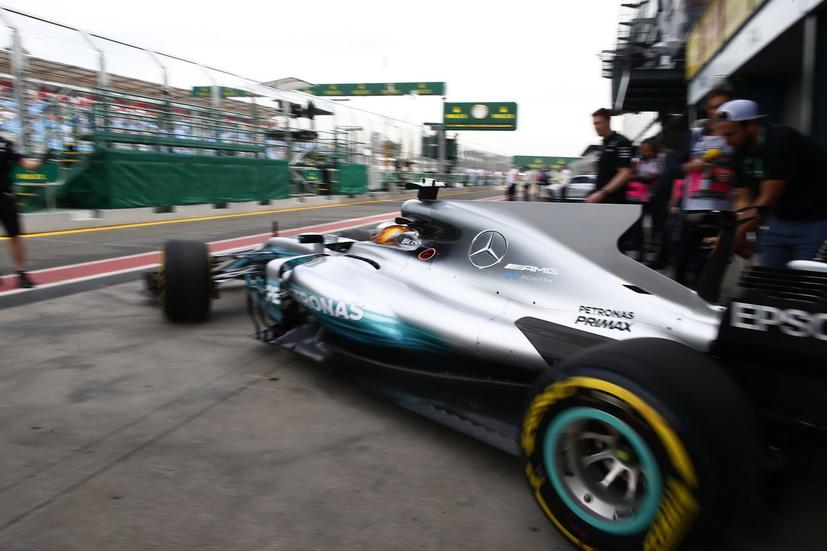 GP de Australia de F1: Hamilton domina los entrenamientos libres