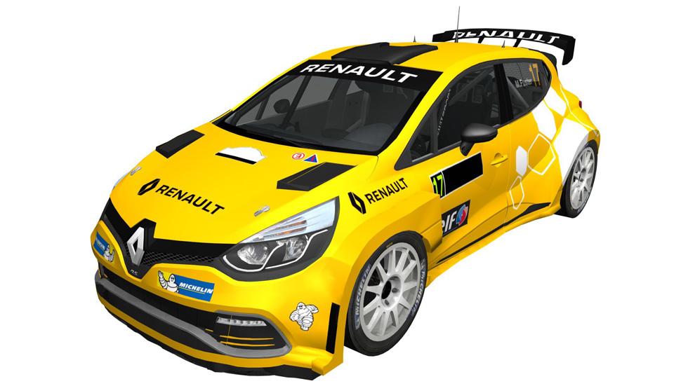 Un Clio N5 para Miguel Fuster, gran novedad de Renault para 2017