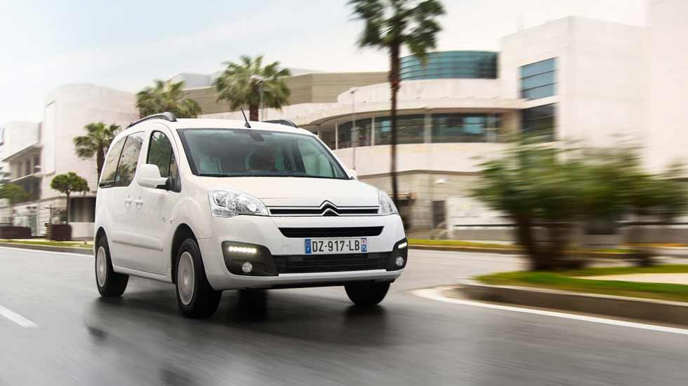 Citroën E-Berlingo Multispace Eléctrico: con una autonomía de 170 km