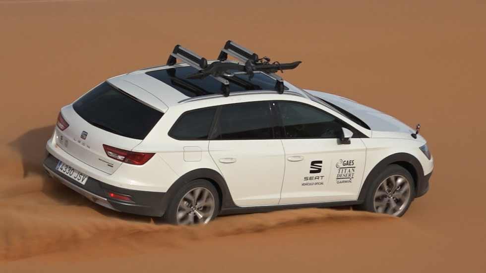 Seat León X-Perience Titan Desert: el León más extremo