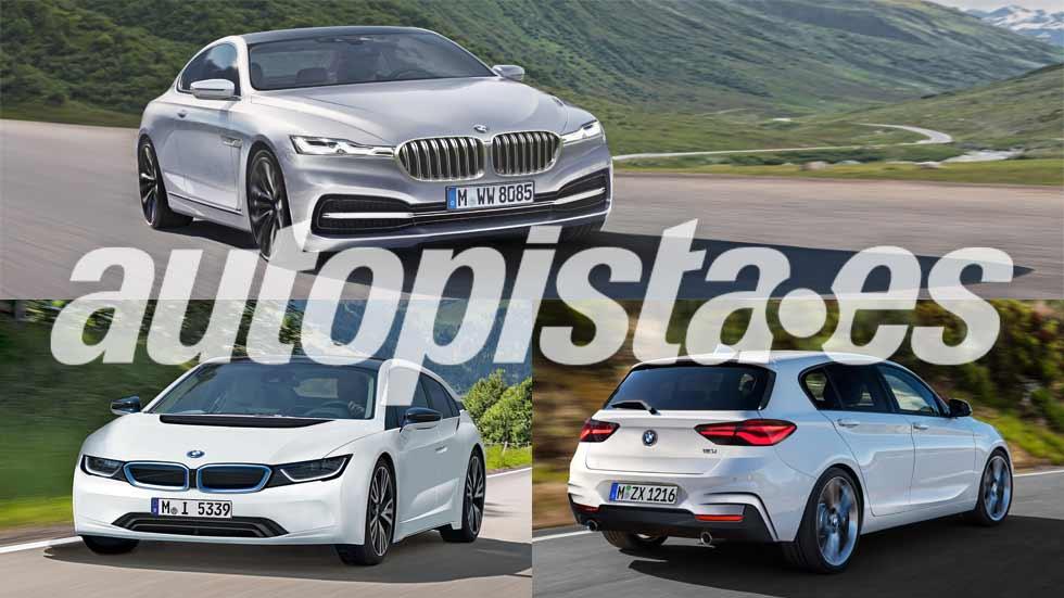 Revista Autopista 3001: 25 coches nuevos de BMW hasta 2020