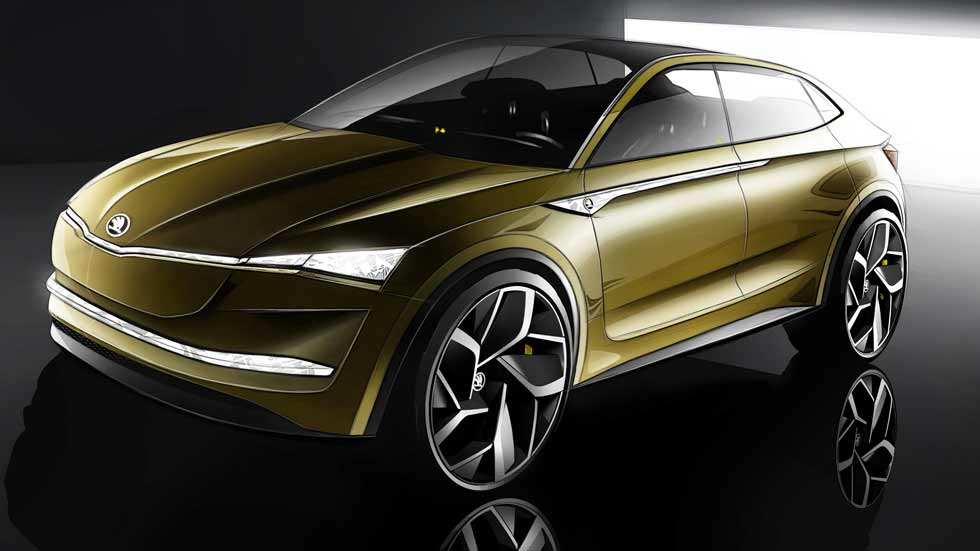 Skoda Vision E Concept: el futuro SUV eléctrico de Skoda y mucho más...