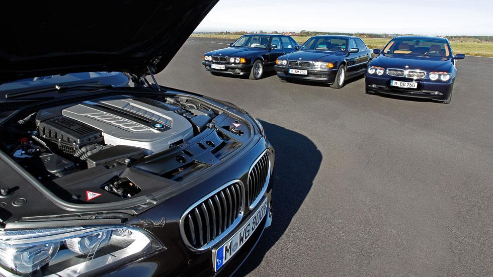 El motor V12 de BMW cumple 30 años en 5 generaciones del Serie 7