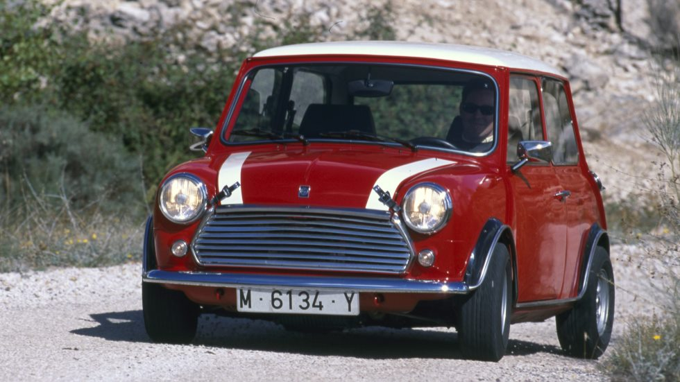 Coches para el recuerdo: Mini Cooper 1300