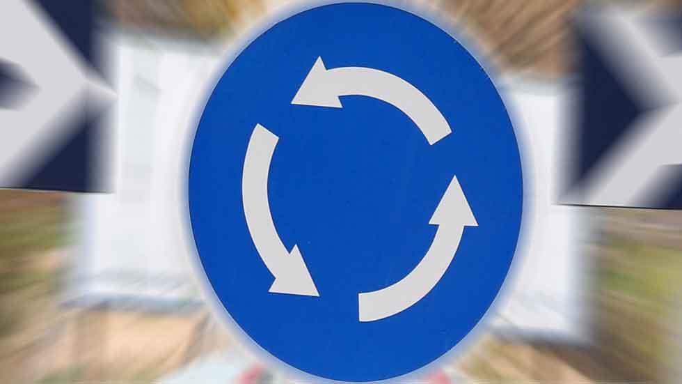 Así podrían acabarse los atascos en las rotondas (idea española)