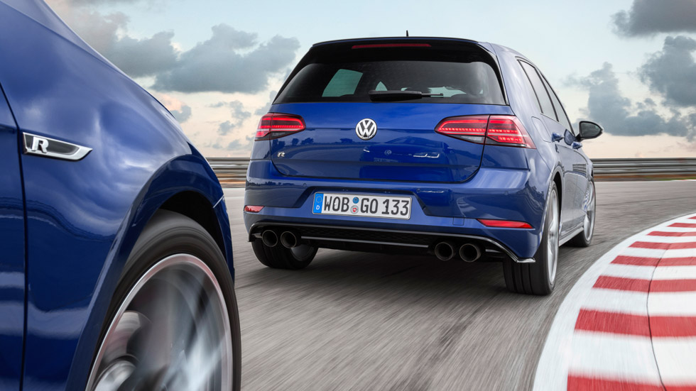 VW Golf R y GTi Performance, a prueba los Golf más deportivos