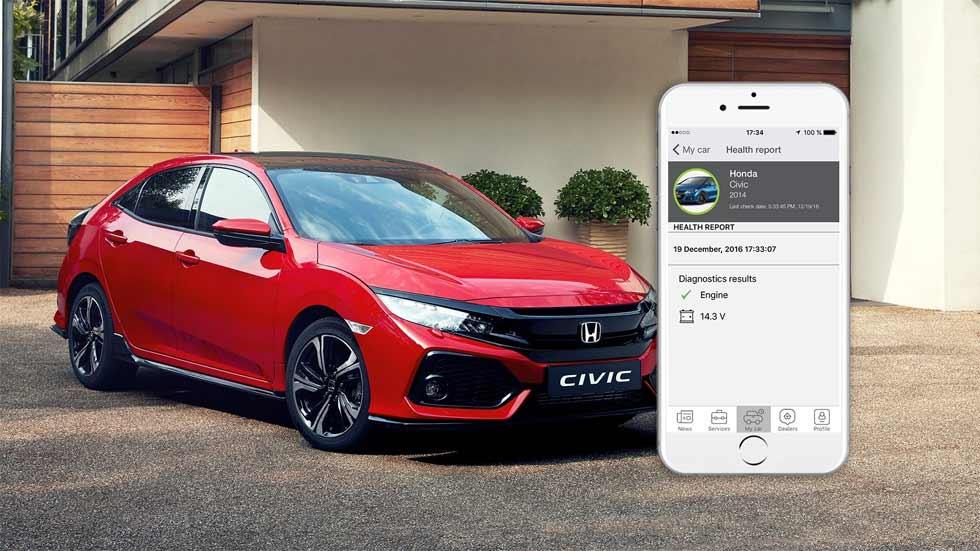 My Honda: la conectividad más moderna, según Honda